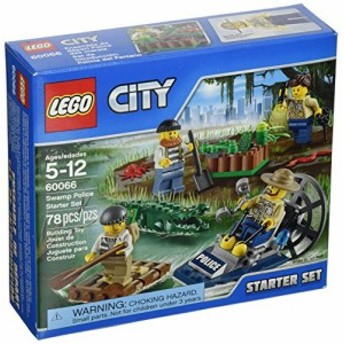 レゴLEGO, City, Swamp Police Starter Set (60066)