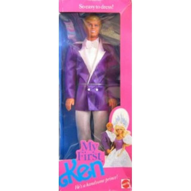 バービーBarbie My First KEN Doll - He's a Handsome Prince! (1989)