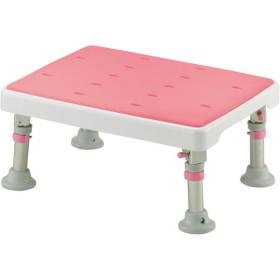 Richell 折りたたみ浴そう台パタピタくんやわらか ピンク 浴槽台