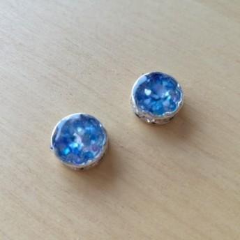 276.Round earring(睡蓮)