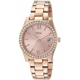 【当店1年保証】フォッシルFossil Women's Scarlette Quartz Watch with Stainless-Steel Strap, Rose