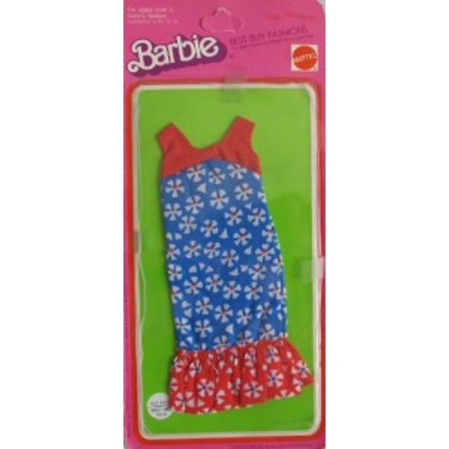バービーBARBIE Best Buy FASHIONS w Red, White & Blue DRESS (1975 Mattel Hawthorne)