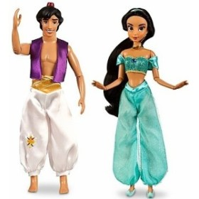 アラジンClassic Aladdin and Princess Jasmine Doll -- 12 H