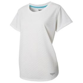 デュアリグ(DUARIG) ドライプラス メッシュ ジャガード半袖Tシャツ 864D8HD5646 WHT (Lady's)