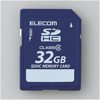 エレコム MF-FSD032GC4R データ復旧SDHCカード 32GB