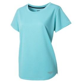 デュアリグ(DUARIG) ドライプラス メッシュ ジャガード半袖Tシャツ 864D8HD5646 EGRN (Lady's)