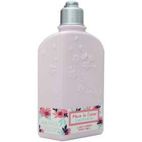 ロクシタン L'OCCITANE チェリーワンダーランド ボディミルク 250ml Fleurs de Cerisiers Body Milk 【香水フレグランス】