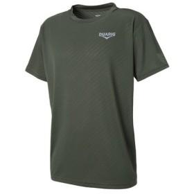デュアリグ(DUARIG) ドライプラス メッシュ ジャガード Tシャツ 863D8HD5629 KHK (Men's)