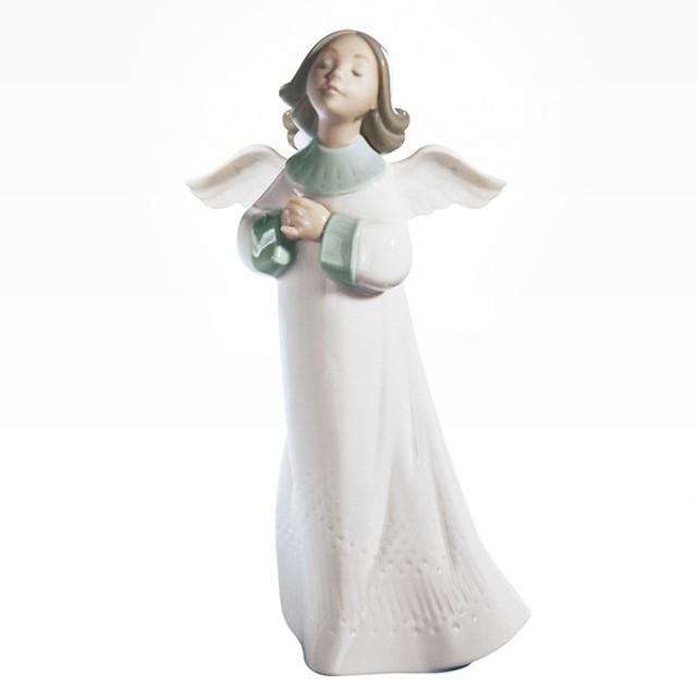 c88b6551215d9 リヤドロ LLADRO 天使の願い 置物 フィギュアオーナメント 6788  お取り寄せ