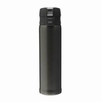 【HOME COORDY】シンプルワンタッチマグボトル ブラック 480ml