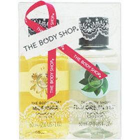 【数量限定】ザ・ボディショップ(THE BODY SHOP) シャワージェルデュオ モリンガ&グリーンティ