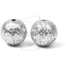 BSC-483-G【4個入り】スパンコールボールビーズ, Sequins Ball Beads /14mm