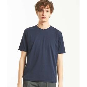 【30%OFF】 アバハウス ローズペトール クルーネックTシャツ メンズ ネイビー 46 【ABAHOUSE】 【セール開催中】