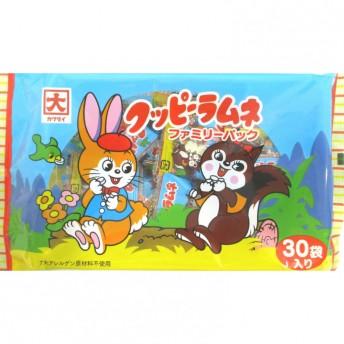 クッピーファミリーパック 4g×30袋【お菓子】