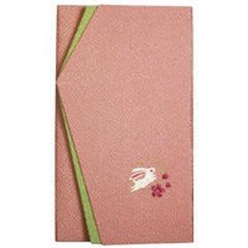 ササガワ タカ印 金封ふくさ 刺繍 祝用 うさぎ 44-1266 1枚(1枚袋入) (取寄品)