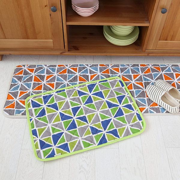時尚創意地墊212 廚房浴室衛生間臥室床邊門廳 吸水長條防滑地毯(40*120cm 1件裝)