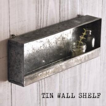 ミニ植物ラック『TIN WALL SHELF』多肉植物 ブリキ ハンギング スタンド フレーム