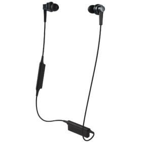 ブルートゥースイヤホン ブルー ATH-HR7BTBL [リモコン・マイク対応 /ワイヤレス(左右コード) /Bluetooth]