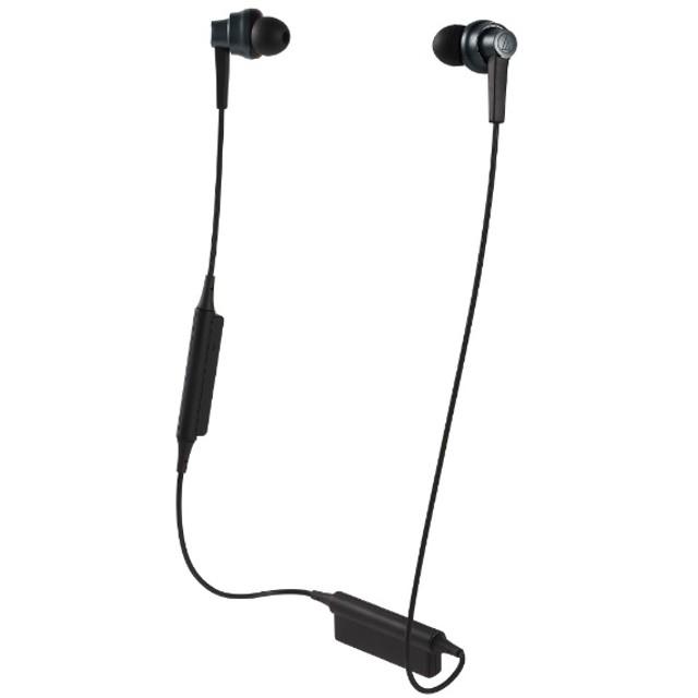 bluetooth イヤホン カナル型 ブルー ATH-HR7BTBL [リモコン・マイク対応 /ワイヤレス(左右コード) /Bluetooth]