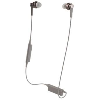 bluetooth イヤホン カナル型 ピンク ATH-HR7BTAPK [リモコン・マイク対応 /ワイヤレス(左右コード) /Bluetooth]