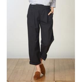 ゆるフィットテーパードパンツ (レディースパンツ),pants