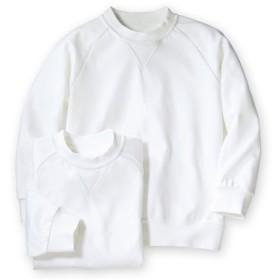 丸首。長袖 体操服シャツ2枚組 体操服