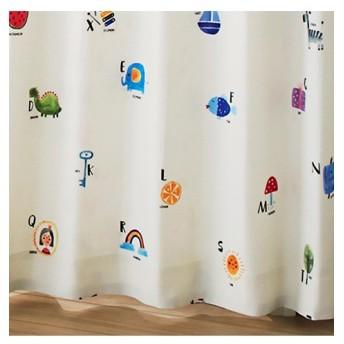 【送料無料!】いろんなものの名前カーテン(ことばのもり) ドレープカーテン(遮光あり・なし)