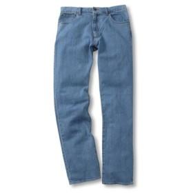 ヘインズ(Hanes) ストレッチ5ポケットジーンズ(股下84cm) 大きいサイズメンズ ストレートジーンズ(デニム)