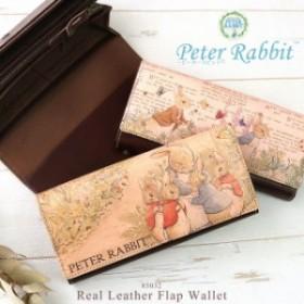 45417d4e66fc 長財布 レディース フラップ かぶせ うさぎ 本革 リアルレザー 大容量 シンプル かわいい PeterRabbit ピーター