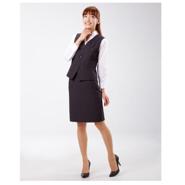 nissen ニッセン ベストスーツ(温湿度調整裏地付)選べる2レングス(丈52cm・58cm) レディース ZZY0113F0001