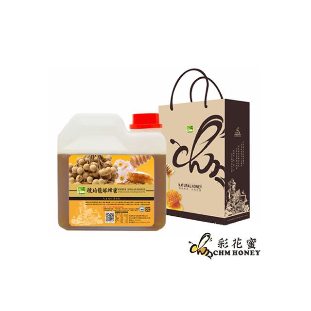 《彩花蜜》台灣嚴選-琥珀龍眼蜂蜜 (AMBERLONGAN HONEY) 1200g