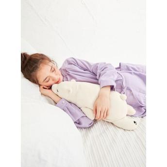 【ANGELIEBE/エンジェリーベ】プレミアムねむねむアニマルズ抱き枕 ラッキー(シロクマ)