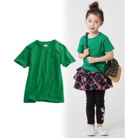綿100%無地半袖Tシャツ(男の子。女の子 子供服。ジュニア服) Tシャツ・カットソー