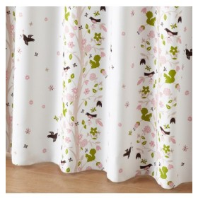 【送料無料!】森の動物柄遮光カーテン ドレープカーテン(遮光あり・なし)