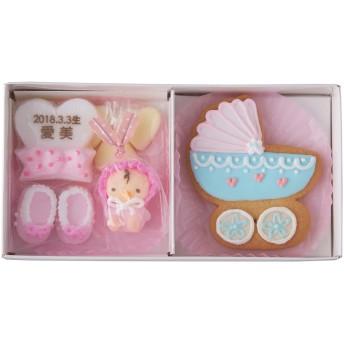 【ANGELIEBE/エンジェリーベ】[名入れ]ベビークラフトとアイシングクッキー ピンク