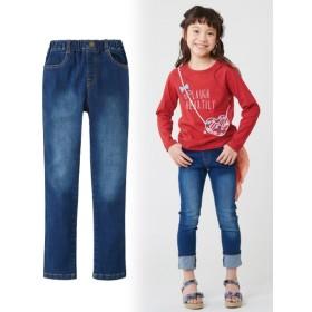 すごく伸びるデニムスキニーパンツ(男の子。女の子 子供服。ジュニア服) パンツ