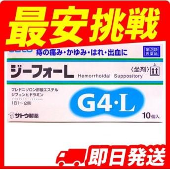 ジーフォーL 10個 指定第2類医薬品