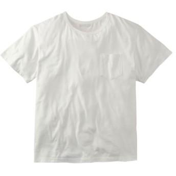 お腹ゆったり綿100%ポケット付半袖Tシャツ 大きいサイズメンズ Tシャツ・カットソー