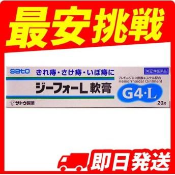 ジーフォーL軟膏 20g 指定第2類医薬品