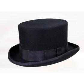 ハット - FADEN [polcadot]トップハット フェルト 帽子 父の日 ギフト サイズ調節有