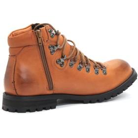 ブーツ - Zeal Market [DEDES デデス] サイドジップ付 マウンテン ブーツ【靴/クツ/くつ】