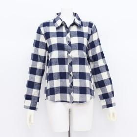 シャツ - Primeira classe ブロックチェックシャツ レディース プリメイラクラッセ トップス コットン100% 綿 オールシーズン 流行 軽やか 肌触り着回し日差し 冷房 大人 カジュアル きれいめ レイヤード かわいい