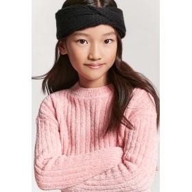 カチューシャ - FOREVER 21【KIDS】 【フロントツイストヘッドラップ】 子供服 女の子 アクセサリー ピンク 黒 ブラック