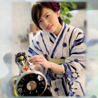 浴衣 - Ainokajitsu 浴衣 レディース ゆかた 大人 浴衣単品 大きいサイズ 小さいサイズ Sサイズ TL WL ぽっちゃり ふくよかさん向き 縞 水玉ストライプ 大人きれいめ