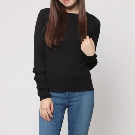 ニット・セーター - GUESS【WOMEN】 [GUESS] NADIA RUFFLE SLEEVE SWEATER