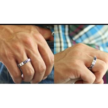 リング・指輪 - シルバーアクセサリーBinich フレームスタッズ リング w ブラック ジルコニア シルバー925 アクセサリー 指輪/Binich(ビニッチ)