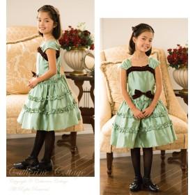 9b54dfc630979 フォーマルドレス - Catherine Cottage 子供ドレス 女の子 アースカラーフリルドレス  子供服 フォーマル