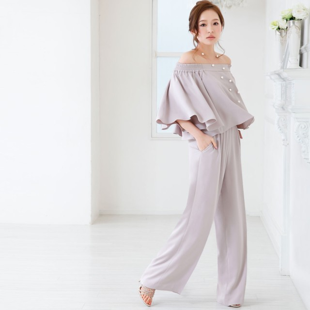 b2f72dc6bf813 ドレス - GIRL パーティードレス パンツドレス ワンピース モデル美香着用 ドレス お呼ばれ 大きいサイズ パーティ