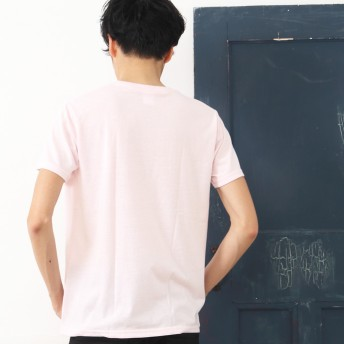 Tシャツ - SHOT+ メンズ プリント Tシャツ 半袖 クルーネック 文字 ロゴ インナー ホワイト ブラック ネイビー ピンク グレー ブルー レッド ML サイズ【210】[11][MT] 【SHOT ショット】『z』[170522]