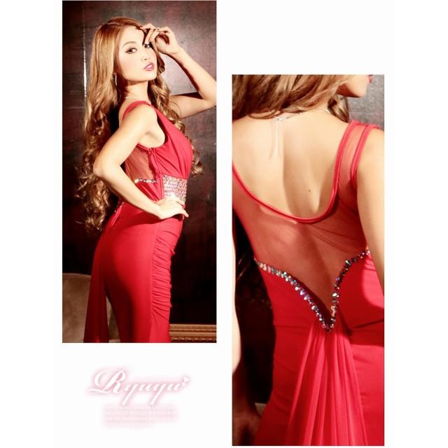 28aa6f07e85b9 ドレス - Ryuyu キャバ ドレス ドレス キャバ キャバドレス キャバクラ ロングドレス パーティードレス ロングテール